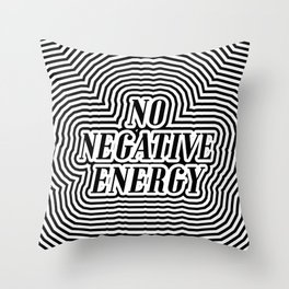 not to be new agey Throw Pillow