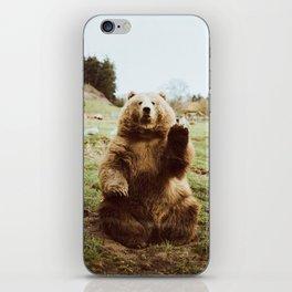Hi Bear iPhone Skin