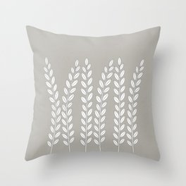Simply Folk - Olive Branches Throw Pillow