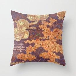 Hidden Patterns Throw Pillow