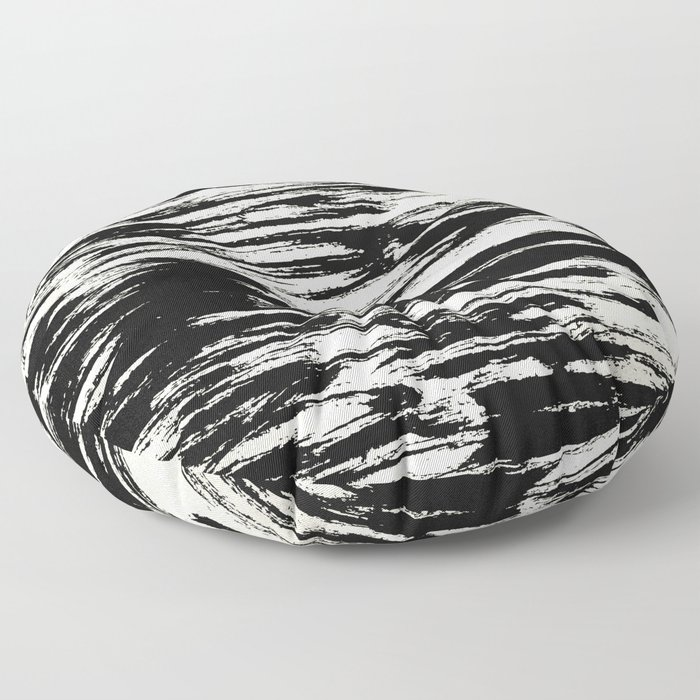 Brush Stripe 2 Floor Pillow