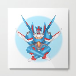 Starscream's True Form Metal Print