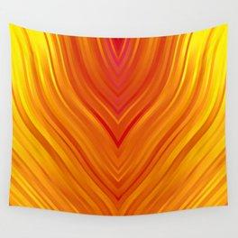 stripes wave pattern 3 eei Wall Tapestry