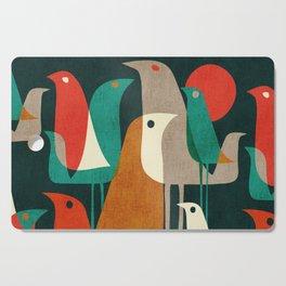 Flock of Birds Cutting Board