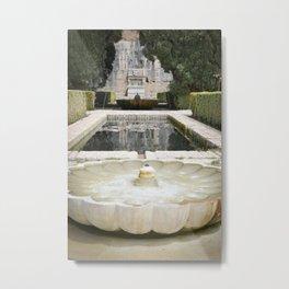 Two Moorish Fountains Metal Print