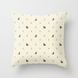 Scottie Dogs Throw Pillow