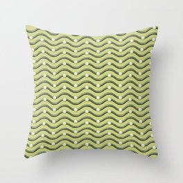 Snake Egg Pattern Throw Pillow
