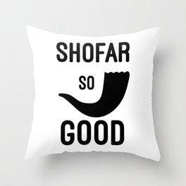 Shofar So Good Throw Pillow