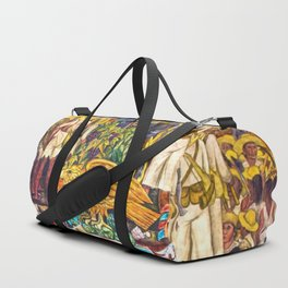 History of Mexico by Diego Rivera Duffle Bag