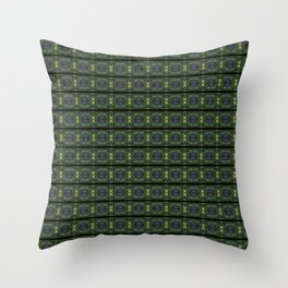 Cool Watermelon Abstract Throw Pillow