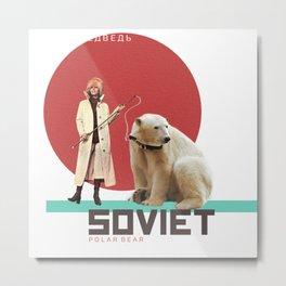 SOVIET POLAR BEAR Metal Print