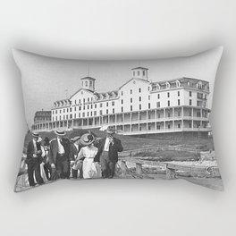 1886 Watch Hill - Larkin Hotel, Westerly, Rhode Island Rectangular Pillow