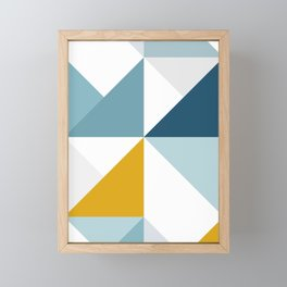 Modern Geometric 18/3 Framed Mini Art Print