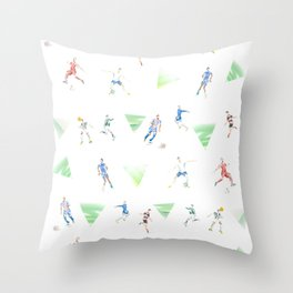 Shoot, Goal Throw Pillow