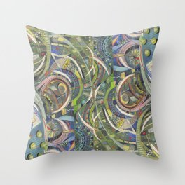 Flagrant Hills Throw Pillow