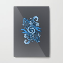 Elder Sign - Pisces Metal Print