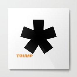 POTUS Trump. Impeached Forever. Metal Print