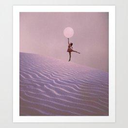 Reaching for the Moon Art Print