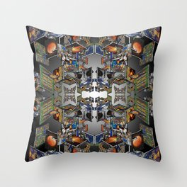 Framework: Fractal Journey Throw Pillow