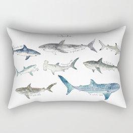 Sharks Rectangular Pillow