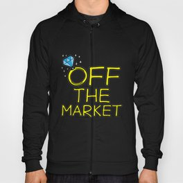 OFF THE MARKET Wedding Bachelor Party Bride Gift Hoody