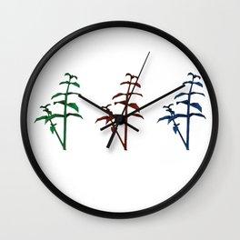 resident evil herbs Wall Clock