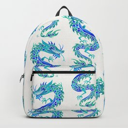 Chinese Dragon – Blue Palette Backpack