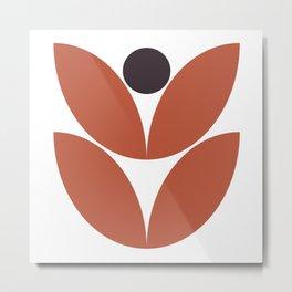 Mod Flower 2 Metal Print