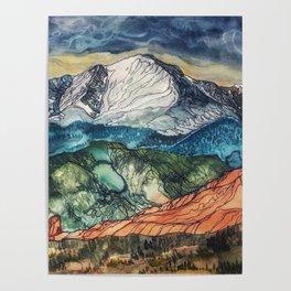 Pikes Peak Print Poster