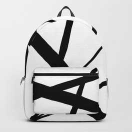 A Harmony of Lines and Shapes Backpack