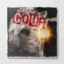 Trump: COUP Metal Print