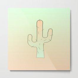 Cactus Male Metal Print