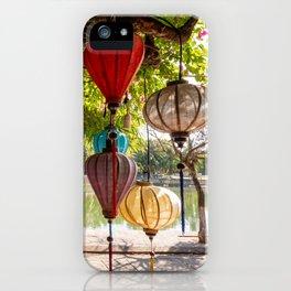 Lanterns, Hoi An iPhone Case