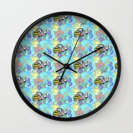 Summer Rhino Wall Clock