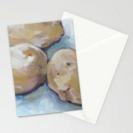 three potatoes Stationery Cards