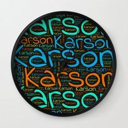 Karson Wall Clock