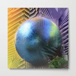Welcome to My Fantasy World Metal Print
