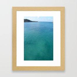 WATERS OF ST. THOMAS Framed Art Print