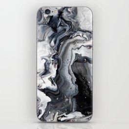 Marble B/W/G iPhone Skin