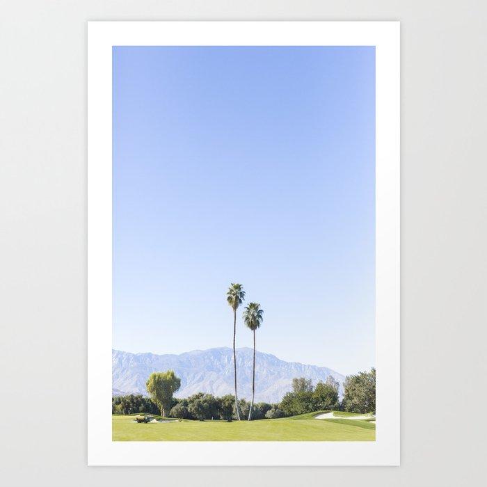 Twin Palms, Palm Springs Kunstdrucke