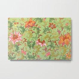 Vintage Floral Pattern #9  Owen Jones, 1867 Metal Print