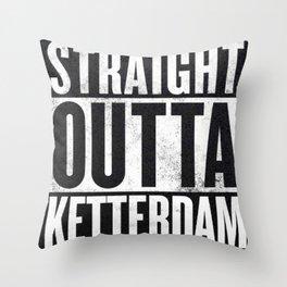 Straight Outta Ketterdam Throw Pillow