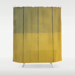 Sunny Colorblock Shower Curtain