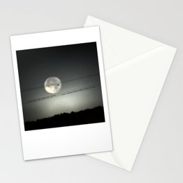 She Was the Moon on Earth Stationery Cards