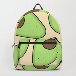 Cute Avocado Pattern Backpack