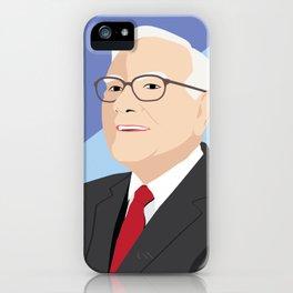 Warren Buffett - Pop Art iPhone Case