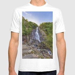 Pistyll Rhaeadr falls 3 T-shirt