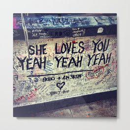 She Loves You Metal Print