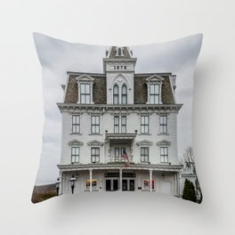 Goodspeed Opera House East Haddam Connecticut Theatre Version 2 Throw Pillow