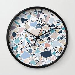 Pastel Terrazzo Wall Clock